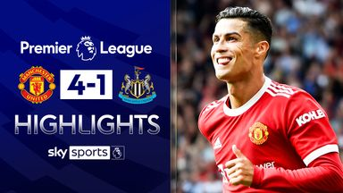 Ronaldo scores double on Man Utd return