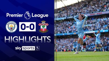 Man City ride luck to earn Saints point