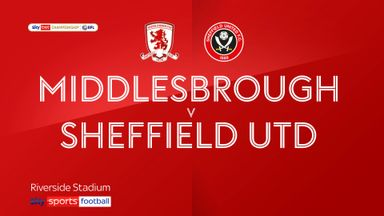 Middlesbrough 2-0 Sheffield Utd