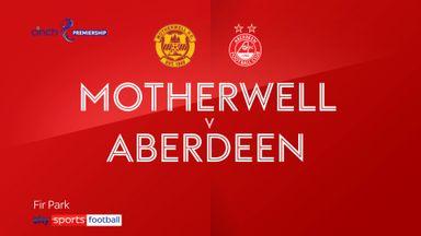 Motherwell 2-0 Aberdeen