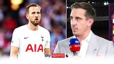 Neville: Kane does not look happy at Spurs