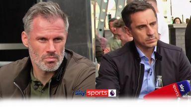 Nev, Carra talk Newcastle problems with fans
