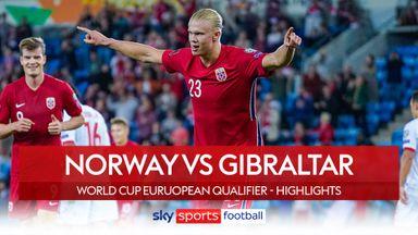 Norway 5-1 Gibraltar