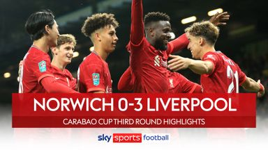 Norwich 0-3 Liverpool