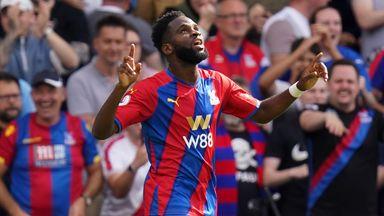 Vieira hails dream debut for Edouard