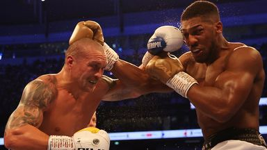 How could AJ approach a rematch with Usyk?