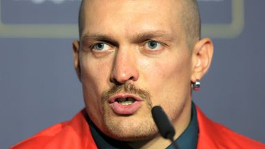 'Usyk is exceptionally good'