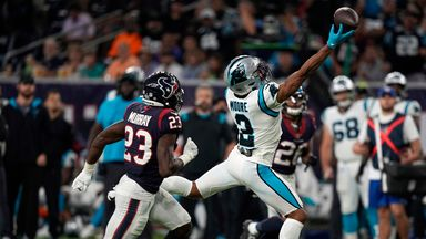 Panthers 24-9 Texans: Highlights