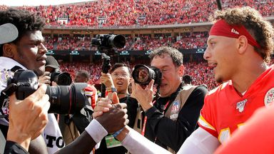 Jackson: It's not about me and Mahomes