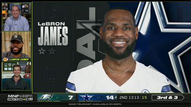 LeBron tells Manning Bros he nearly joined NFL!