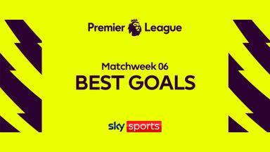 PL Best Goals MW6: Vardy, Cornet, Raphinha