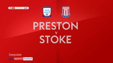 Preston 1-1 Stoke