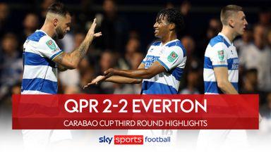 QPR 2-2 Everton (8-7 pens)