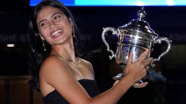 'Raducanu can inspire girls to play tennis'