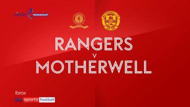 Rangers 1-1 Motherwell