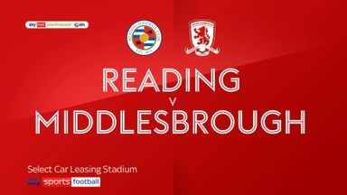 Reading 1-0 Middlesbrough