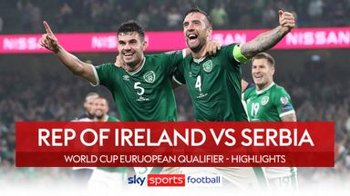 Republic of Ireland 1-1 Serbia