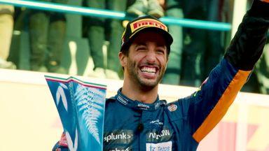 Ricciardo reflects on first McLaren win