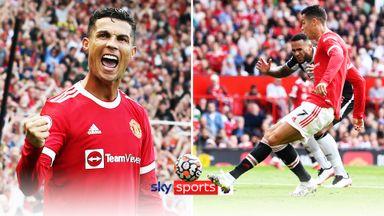 Ronaldo's dramatic double on Old Trafford return