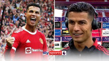 Ronaldo: I was so nervous...I swear!