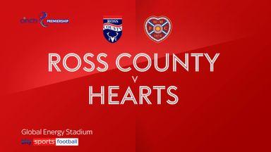 Ross County 2-2 Hearts