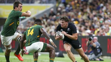 New Zealand 19-17 South Africa