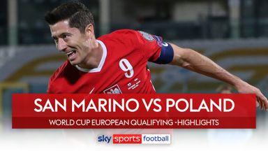San Marino 1-7 Poland