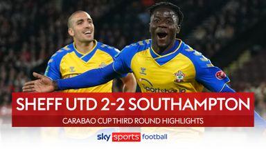 Sheffield Utd 2-2 Southampton (2-4 pens)