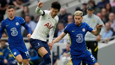 HT Tottenham 0-0 Chelsea