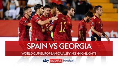 Spain 4-0 Georgia