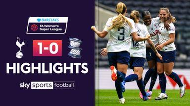 WSL: Tottenham 1-0 Birmingham