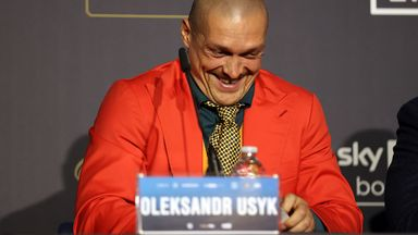 Short and sweet from Usyk