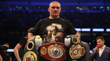 Usyk: The fight went the way I expected