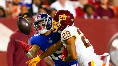 Highlights: Giants 29-30 Washington
