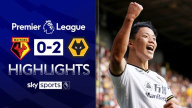 Wolves earn first win of the season at Watford