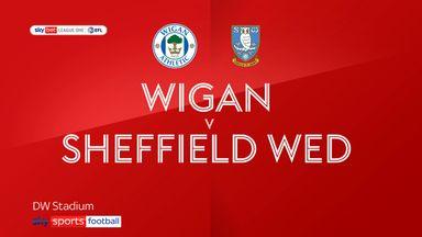 Wigan 1-2 Sheff Wed