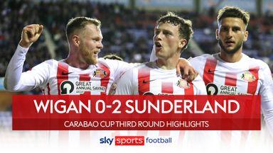 Wigan 0-2 Sunderland