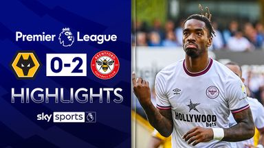 Toney inspires Brentford win at Wolves