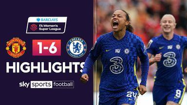 WSL: Man Utd 1-6 Chelsea