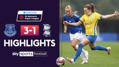 WSL: Everton 3-1 Birmingham