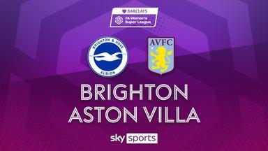 WSL- Brighton 0-1 Aston Villa