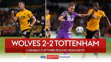 Wolves 2-2 Tottenham (2-3 pens)