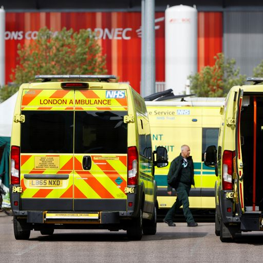 NHS staff just as worried about pressures now as during peak of pandemic
