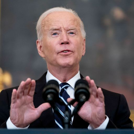 'Your refusal has cost us all': Biden says firms could be fined if workers refuse COVID jab