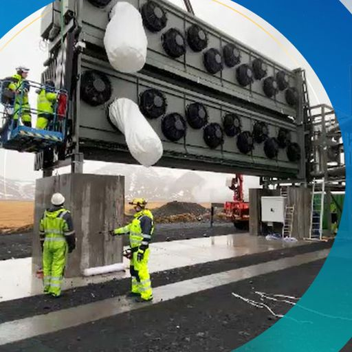 World's biggest plant for sucking carbon dioxide from the air starts operating in Iceland