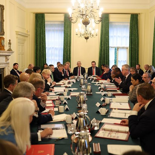 'They're not strangers': Javid defends maskless cabinet meeting after PM advised their use