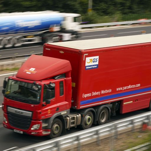 'Not in hands' of government to guarantee enough lorries on roads for Christmas deliveries - transpo