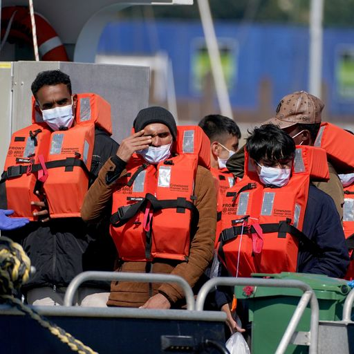 Priti Patel planning to send UK-bound migrant boats back to France