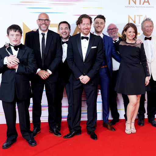 The full list of winners from the National Television Awards