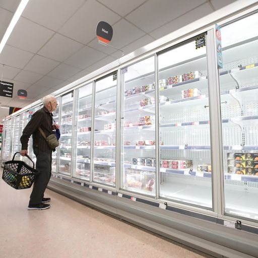 Why are UK businesses being hit by shortages at the moment?